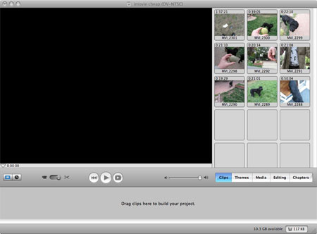 make movie with imovie